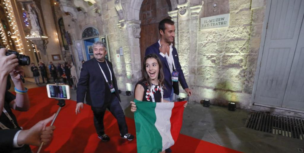 Junior Eurovision Song Contest 2016, ordine di uscita: Fiamma Boccia undicesima
